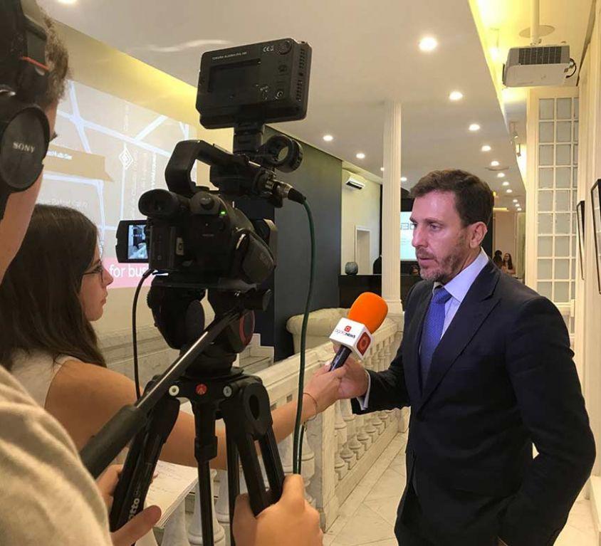 Presentación a prensa en GSG Business Hub